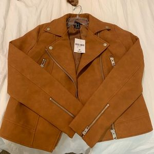Jackets & Blazers - Suede forever 21 jacket